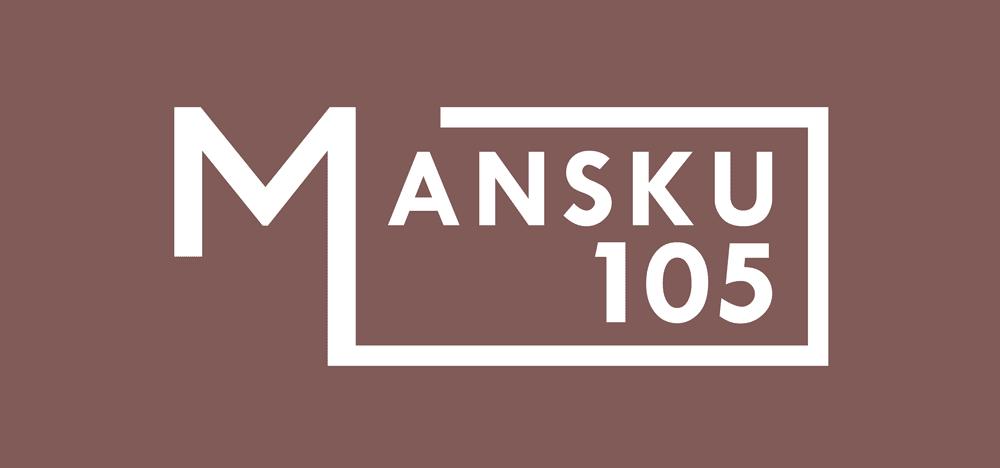 Mansku 105 logo punainen